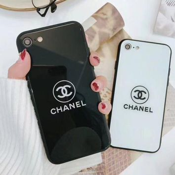 Chanel Original Luxury Letter Logo Iphone 7plus/X Stylish iPhone 6s/8plus(2-Color) I