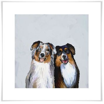 Best Friend - Border Collies Wall Art