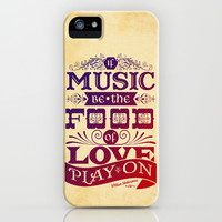 Food of Love  iPhone & iPod Case by Rollerpimp