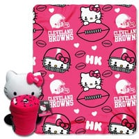 Cleveland Browns Hello Kitty Hugger