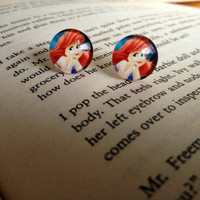 Little mermaid studs