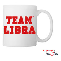 TEAM LIBRA Coffee & Tea Mug