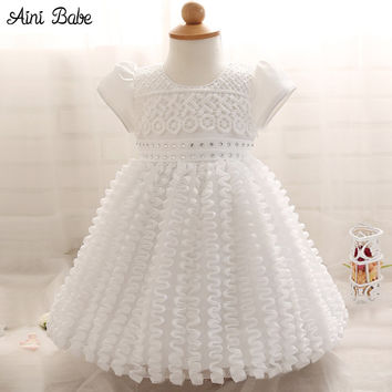 Kid Girl Dress Baby Clothing Brand Ceremonies Party Dress