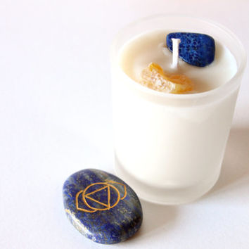 Third Eye Chakra Votive Soy Candle