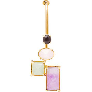 VOLHA | Crystal Single Earring | brownsfashion.com | The Finest Edit of Luxury Fashion | Clothes, Shoes, Bags and Accessories for Men & Women