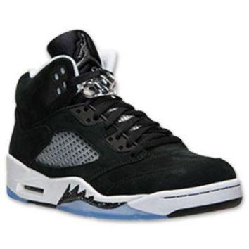 ONETOW Men's Air Jordan Retro 5 Basketball Shoes