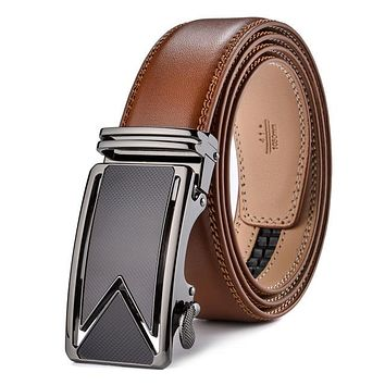 FIRE KIRIN Men's Cowhide Belt