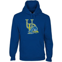 Delaware Fightin' Blue Hens Distressed Primary Pullover Hoodie - Royal Blue