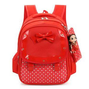 Toddler Backpack class OCARDIAN mochila Baby Girls Kids Bowknot Heart Dot Backpack Toddler School Bag 3Pcs Set Made in China Casual #30 2017 Gift AUG9 AT_50_3