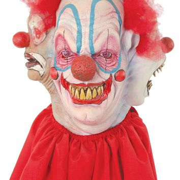 Clowning Around Mask Latex Halloween freak show circus carnival