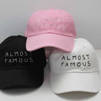 "NASASEASONS x Trius ""Almost Famous"" Caps"