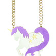 STARRY UNICORN CHAIN NECKLACE