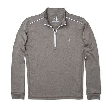 Lammie 1/4 Zip Prep-Formance Pullover in Meteor by Johnnie-O - FINAL SALE