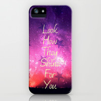 Look How They Shine For You - for iphone iPhone & iPod Case by Simone Morana Cyla