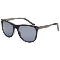 Blue Crown Craig Knurled Sunglasses Black One Size For Women 26452210001