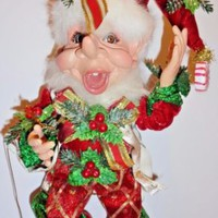 Retired Mark Roberts Sweet Tooth Elf 51-92114 Christmas 10.5""