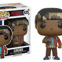 Funko Pop TV: Stranger Things - Lucas Vinyl Figure