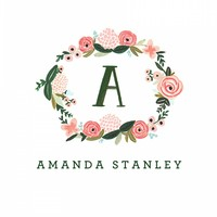 Monogram Floral Personalized Stationery by RIFLE PAPER Co. | Made in USA