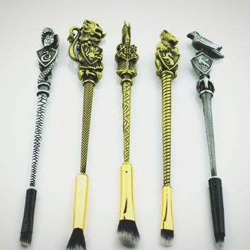 Harry potter houses 5pcs Makeup Brush Set
