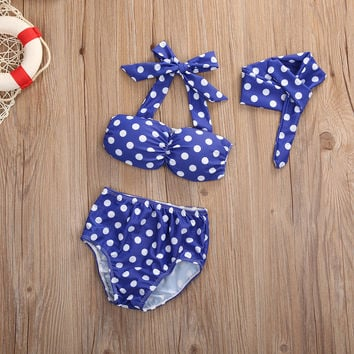 Infant Baby Girls Clothes Summer Cute Swimming Set Children