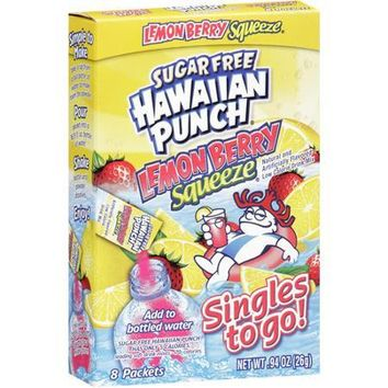HAWAII PUNCH SINGLES .75 OZ 8 PACKET                                            PRICE: $2.50