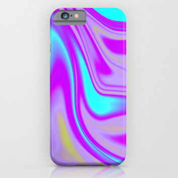 Abstract Fluid 4 iPhone & iPod Case by Arrowhead Art