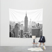New York City Wall Tapestry by Studio Laura Campanella