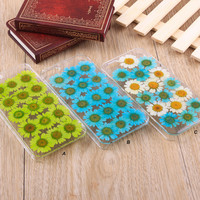 Daisy sun flower resin flower iPhone case Galaxy case 006