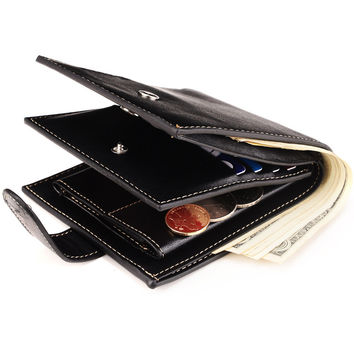Men Wallet Korean PU Leather Purse [8830606147]