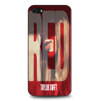 Red Taylor Swift iPhone 5 | 5S Case