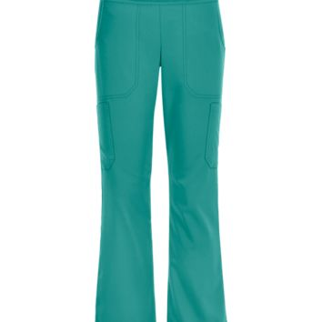 Advantage by Butter-Soft Yoga Pants with Knit Waistband | Cargo Scrubs