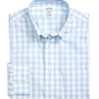 Non-Iron Regent Fit Large Gingham Sport Shirt - Brooks Brothers