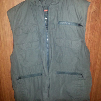 Vintage 1980s Feather Insulated Outfitters Fishing Vest - Size Large -