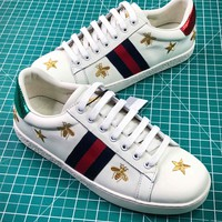 Gucci Ace Embroidered Low Top Sneakers Style 8 - Best Online Sale