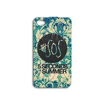 5 SOS Five Seconds of Summer Cute Music Cover Case iPhone 5 5c 5s 4 4s 6 iPod +