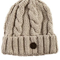 The Alfie Knit Beanie in Light Grey