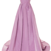 Laced Tailor Bow Gown by Katie Ermilio - Moda Operandi