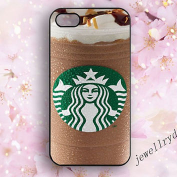 Starbucks coffee iPhone 5/5s case,Starbucks Ice cream iPhone 4/4S case,iPhone 5c case,Starbucks samsung galaxy s4 s5,Unique phone case gifts