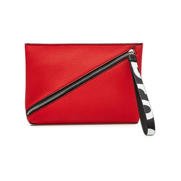 Zip Pouch Leather Clutch - Proenza Schouler | WOMEN | US STYLEBOP.COM