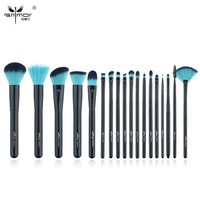 Anmor New Makeup Brushes Professional Makeup Tools For Eyes and Face High Quality Make Up Brushes Black Pearl Series