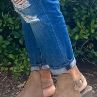 Anything Goes Booties - Light Tan