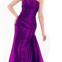 Moonar Chiffon Asymmetrical Prom Formal Gown Ball Party Bridemaid Dress