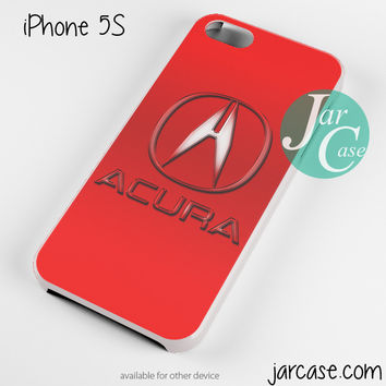 Red Acura Logo Phone case for iPhone 4/4s/5/5c/5s/6/6 plus