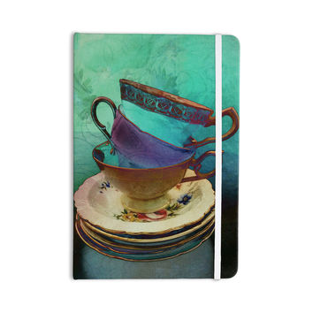"alyZen Moonshadow ""Mad Hatters T-Party I"" Turquoise Everything Notebook"