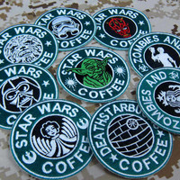 Star Wars Coffee Patches