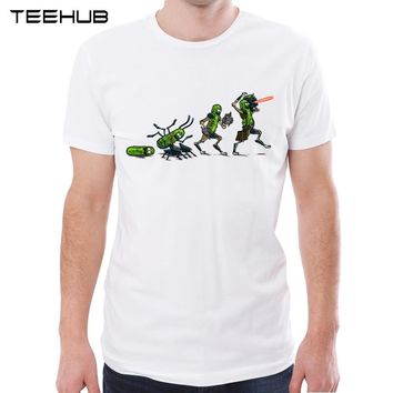 Pickle Evolution Rick And Morty t shirt