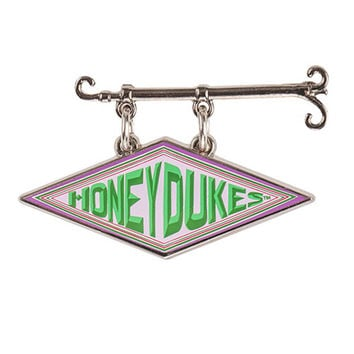 Universal Studios Harry Potter Honeydukes Sign Dangle Pin New with Card