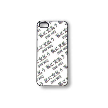 "SUPA KAWAII INTERNET ""Pay Me"" tumblr case anime soft ghetto pastel grunge cyber fashion money rainbow japanese"
