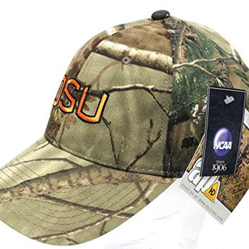 New NCAA OSU Oregon Ducks Camo Adjustable Belt Buckle One Fit Cap Embroidered Hat