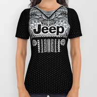 Aztec Jeep All Over Print Shirt by Greenlight8